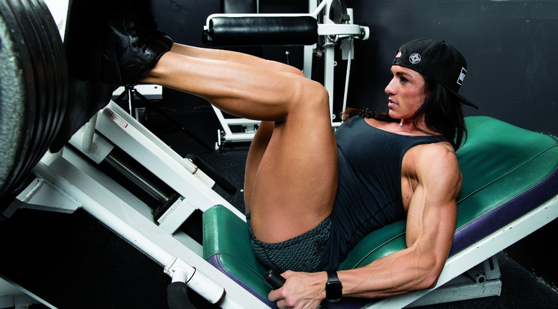 IFBB Pro Heather Dees & # 039; Quad Focused Workout