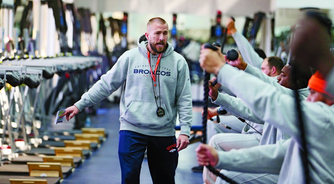 What it Takes to Become an NFL Strength Coach