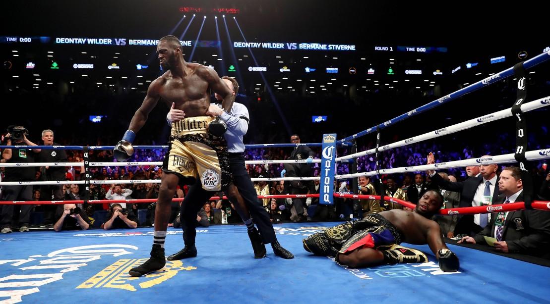 Deontay Wilder Bermane Stiverne Knockout
