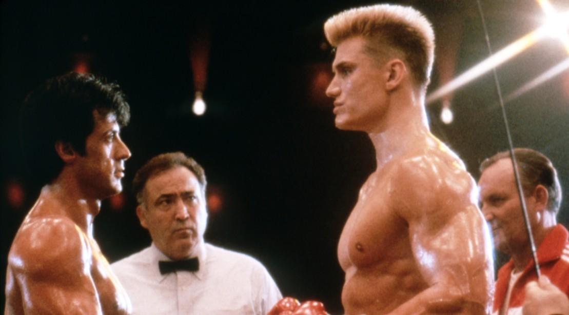Dolph Lundgren & Sylvester Stallone Rocky IV