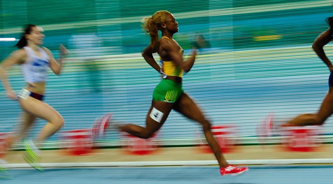 Dominique Blake Running