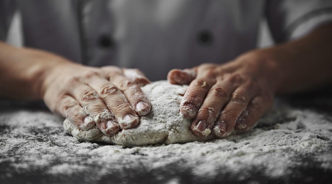 Hands In Flour