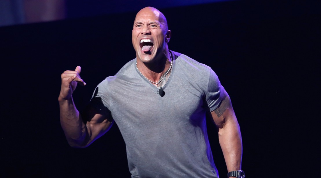 Dwayne Johnson Recreates The Iconic Fanny Pack Picture And Gives