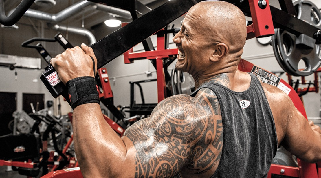 Dwayne 'The Rock' Johnson's Back Workout