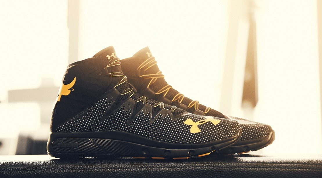 18a1a131c8 Dwayne Johnson's Under Armor Rock Delta Sneaker Sell Out Twice ...