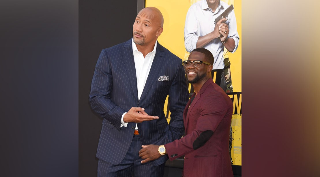 'The Rock' Donates $25K to Hurricane Harvey Challenge, In Response to Kevin Hart's Nomination