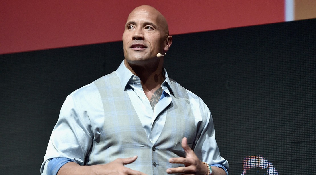 Actor Dwayne Johnson Speaks Onstage At Cinemacon 2017
