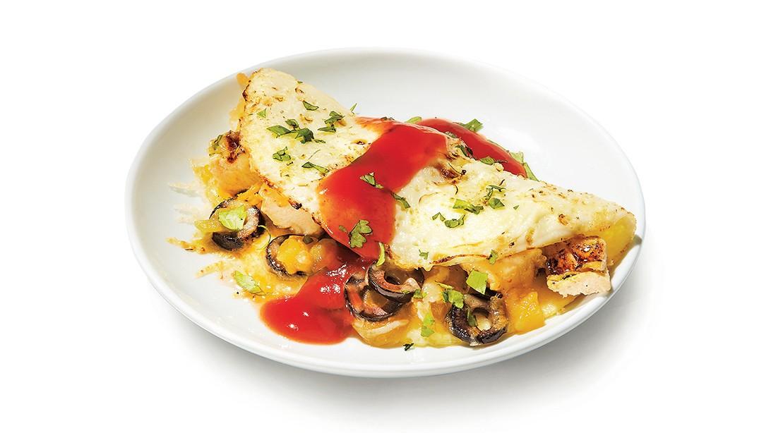 Enchilada-Inspired Omelet