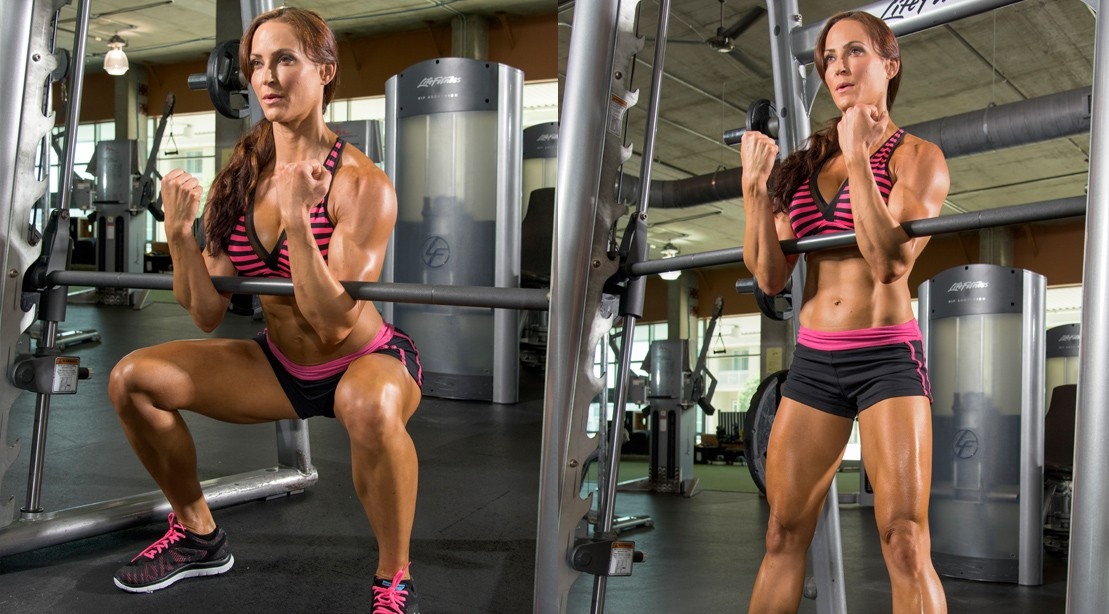 Girls Hot legs squeezing fitness