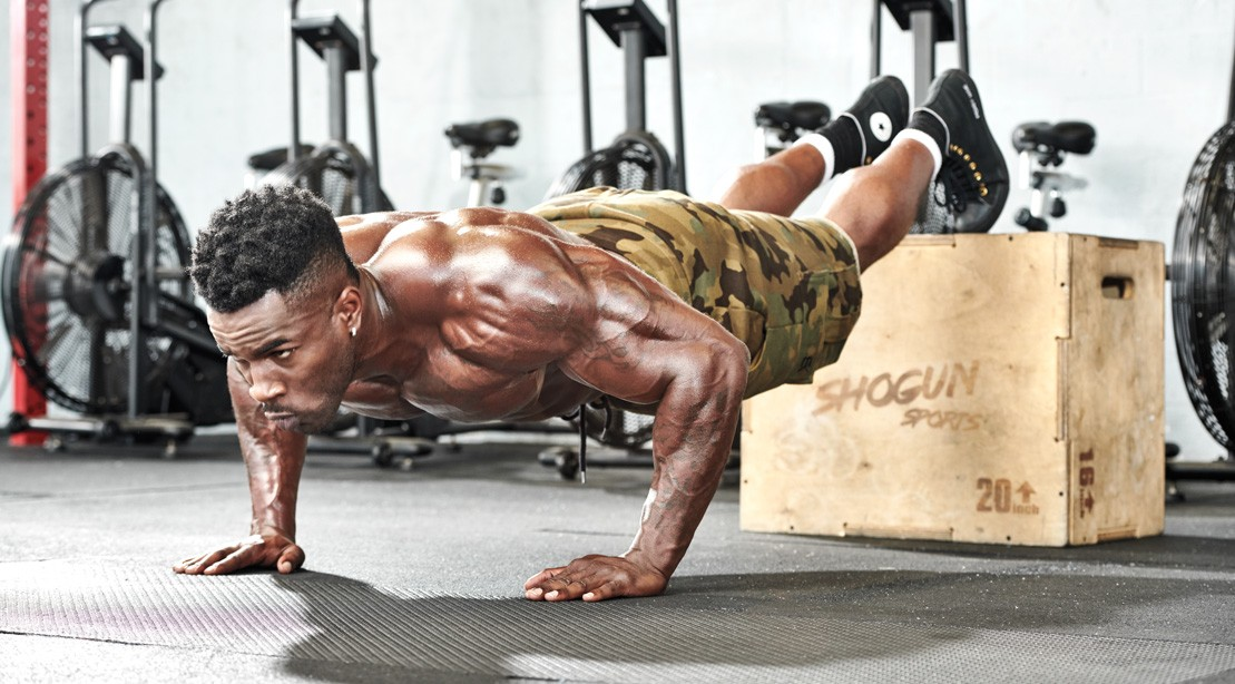 feet elevated pushup pecs 1109