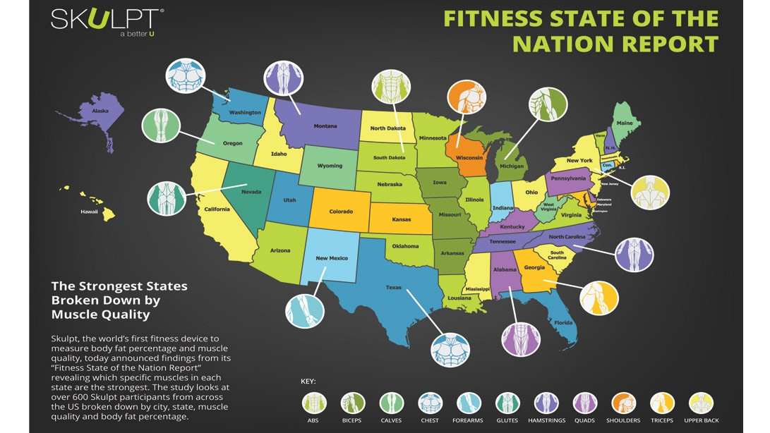 How Fit Is Your Home State?