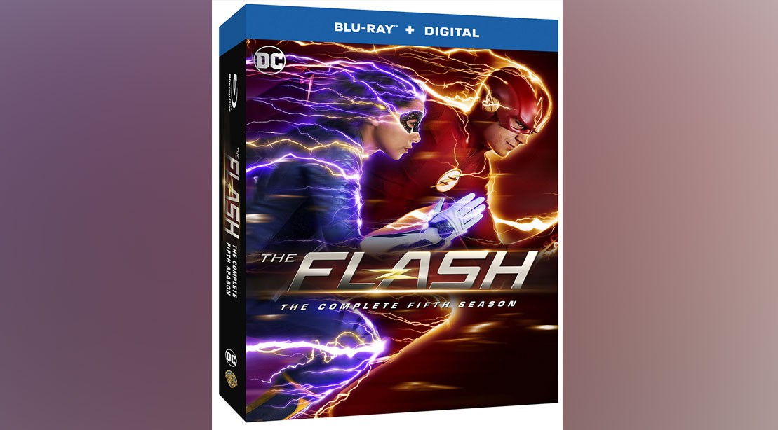 Win The Flash: The Complete Fifth Season on Blu-ray