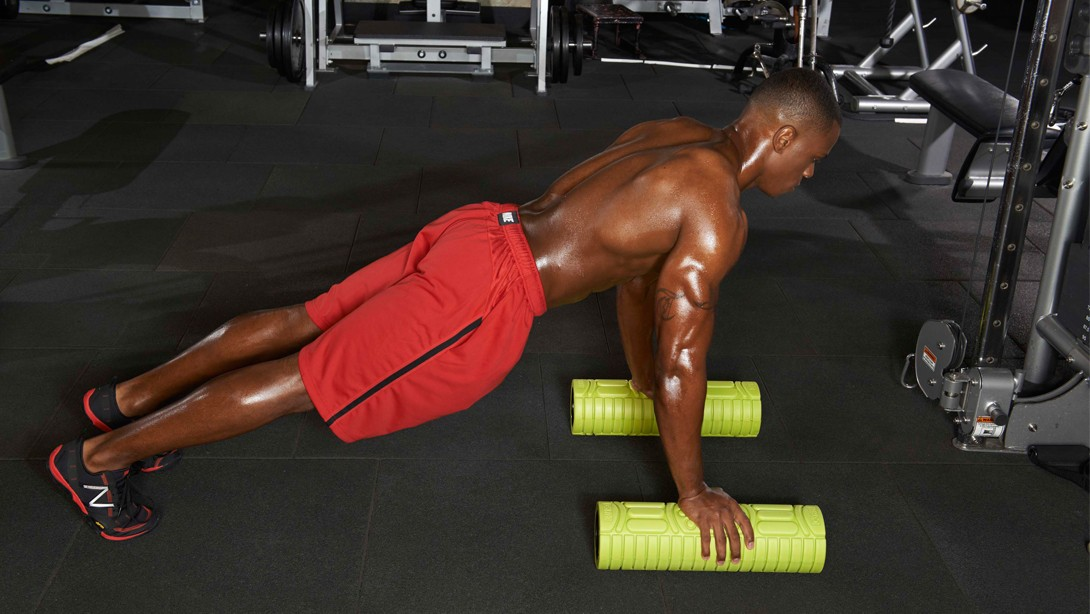 Loosen Up with the Foam Roller