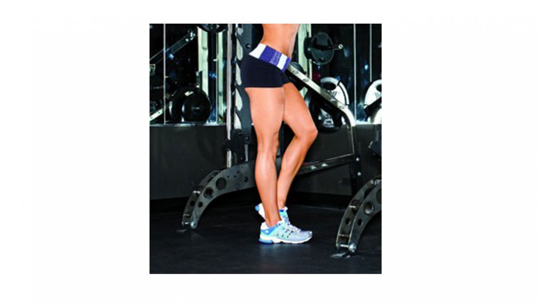 lower body of fit woman