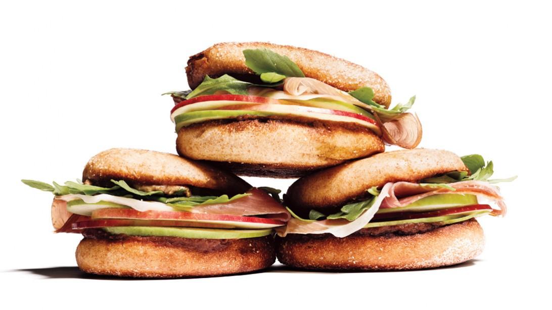 Healthy Breakfast - Ham Sandwich