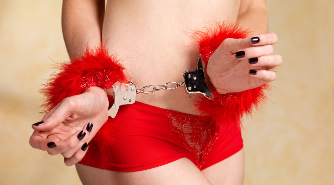 Woman with Hand Cuffs
