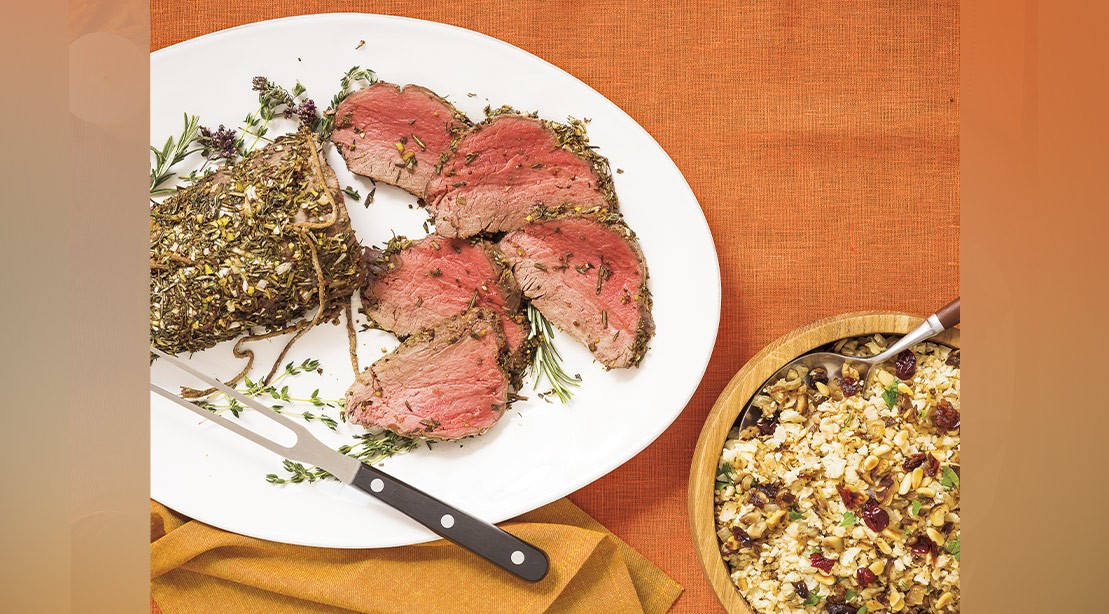 Herb Crusted Tenderloin