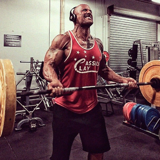 The Rock's Hercules Workout