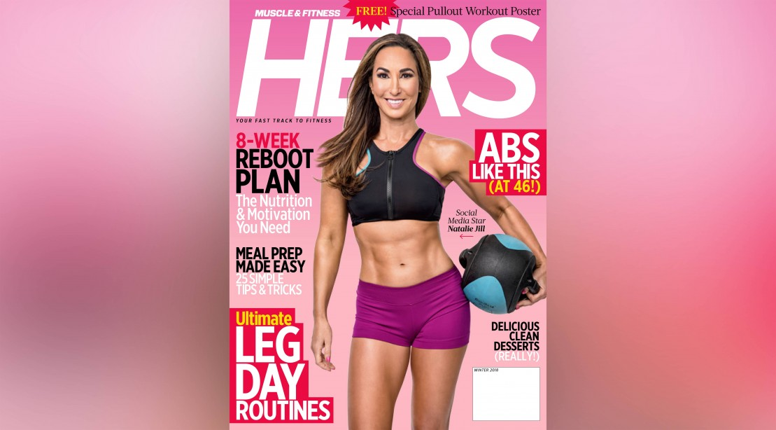 'Muscle & Fitness Hers' Cover Featuring Natalie Jill