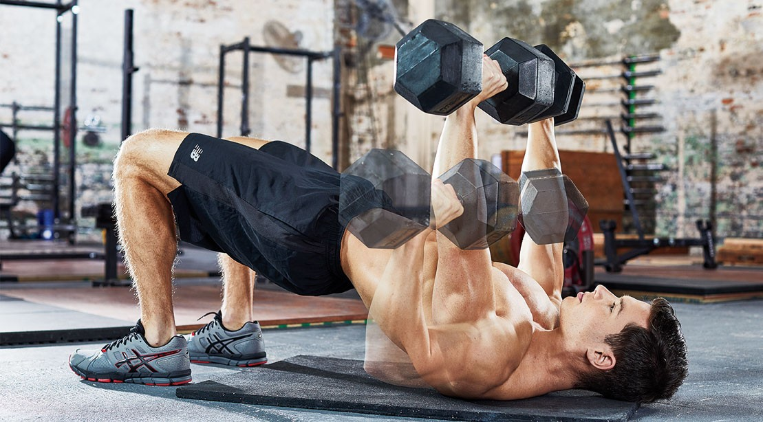 The Dumbbell Hip Bridge Press To Optimize Your Bench Muscle Fitness