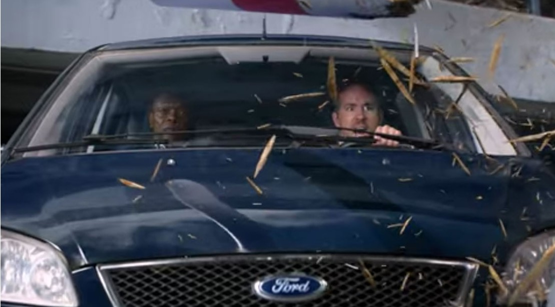 Ryan Reynolds & Smauel L. Jackson In 'The Hitman's Bodyguard'