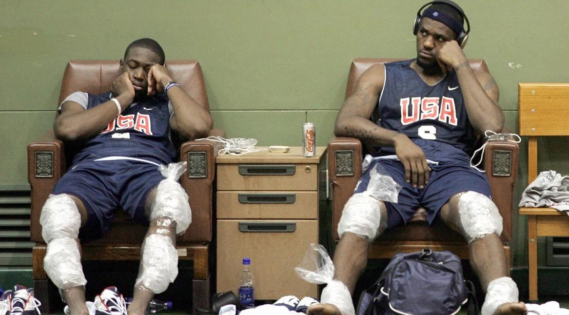 LeBron James and Dwayne Wade