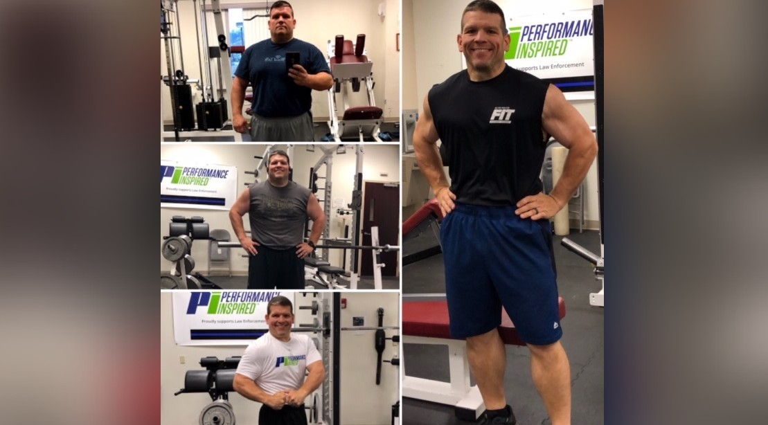 How Performance Inspired Helped This Police Officer Transform His Physique