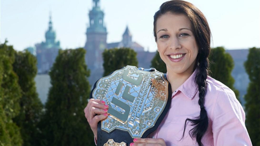 UFC Women's Champ Joanna Jedrzejczyk Interview