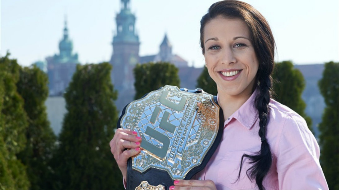 UFC Women's Champ Joanna Jedrzejczyk Interview