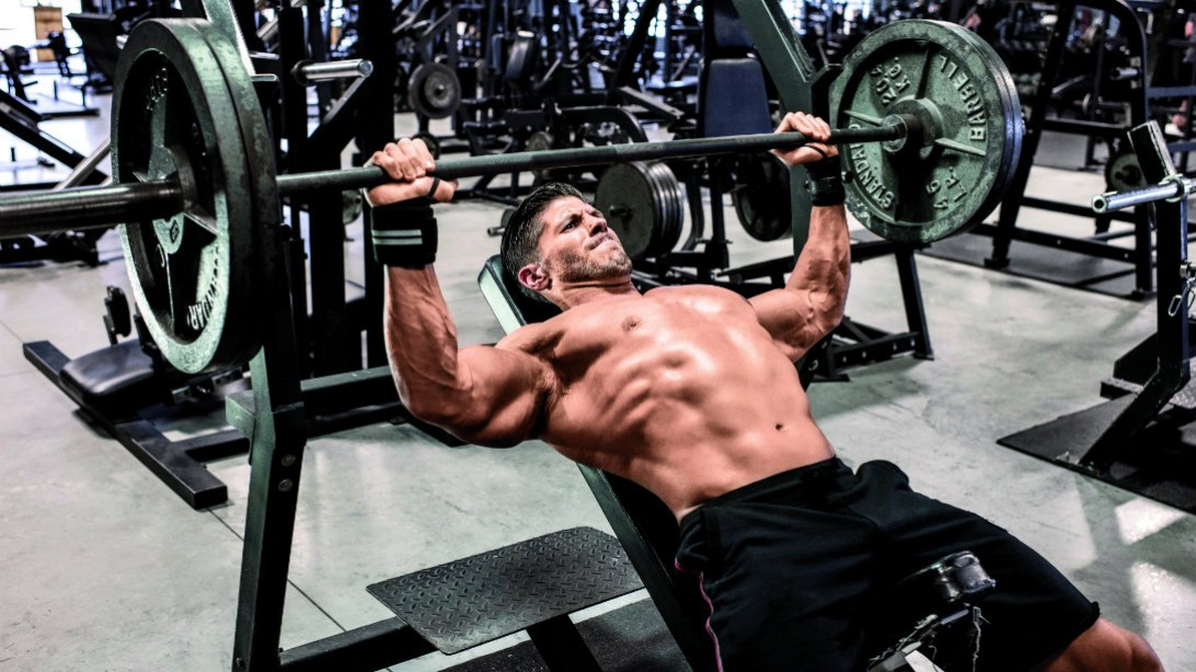 Image Of Dumbbell And Bench Only Workout Dumbbell Only Home Or Gym