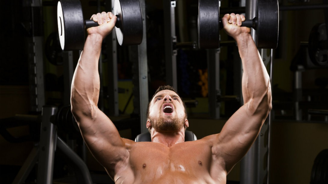 incline dumbbell bench press