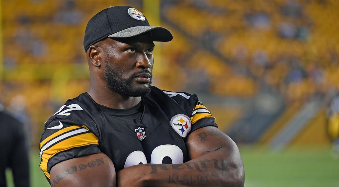 James Harrison Steelers