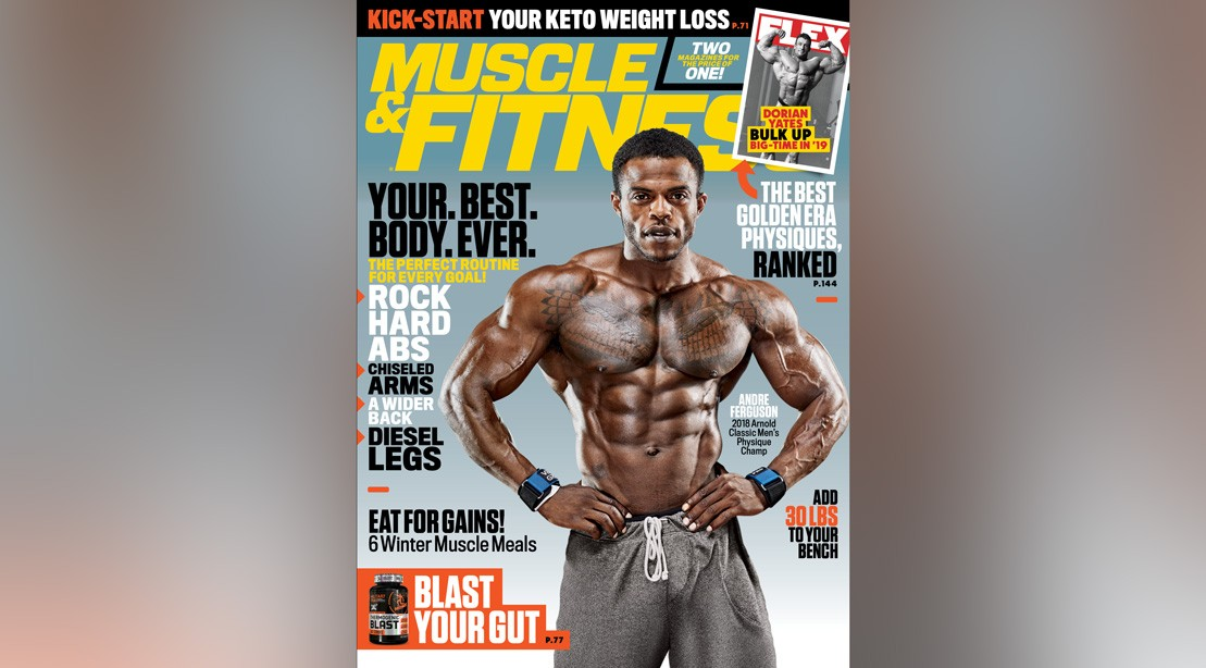 Get the January 2019 Issue of 'Muscle & Fitness'