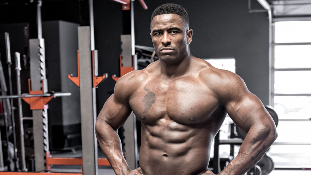 Javon Walker's Shoulder Workout