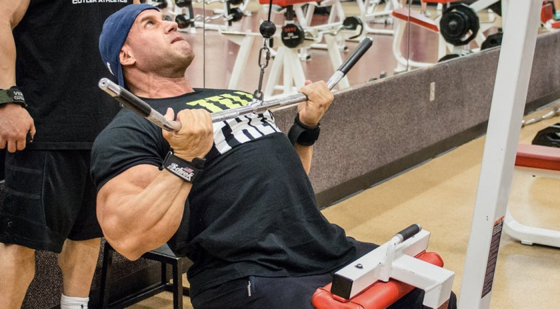 Jay Cutler's Two-A-Day Back Training