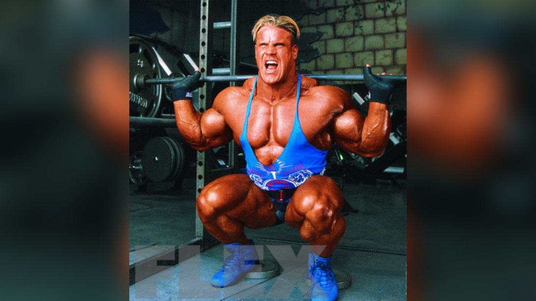 Jay Cutler's High-Volume Quad Workout