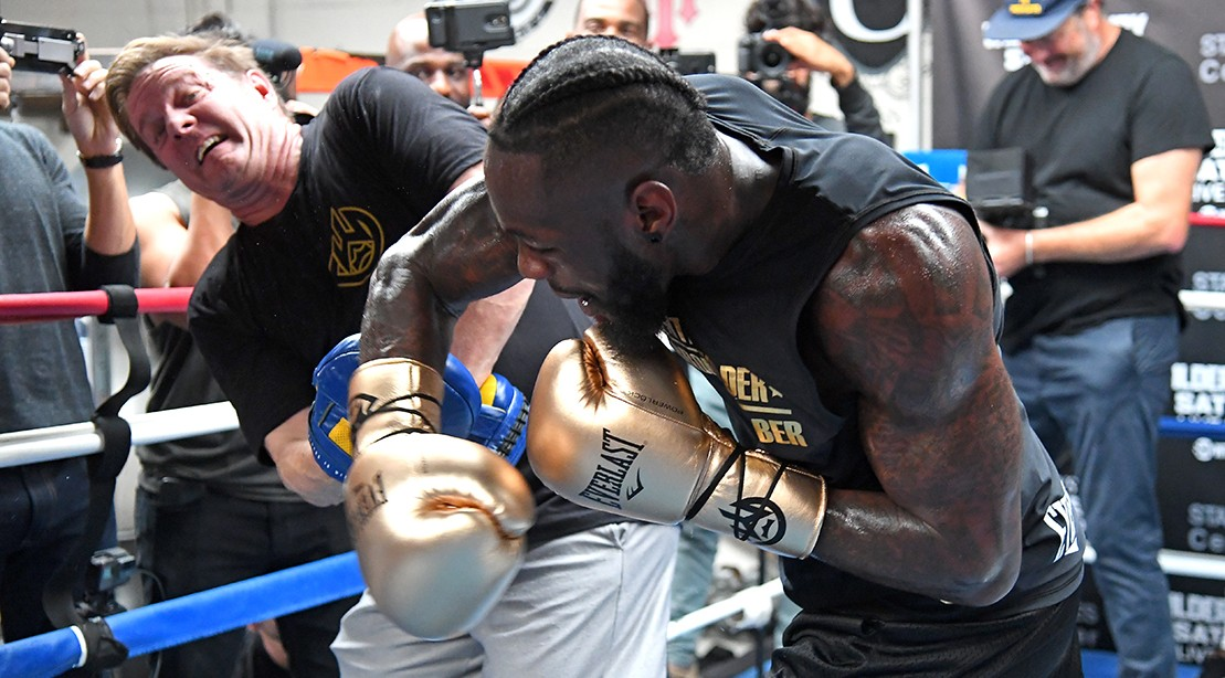 Jay Deas and Deontay Wilder
