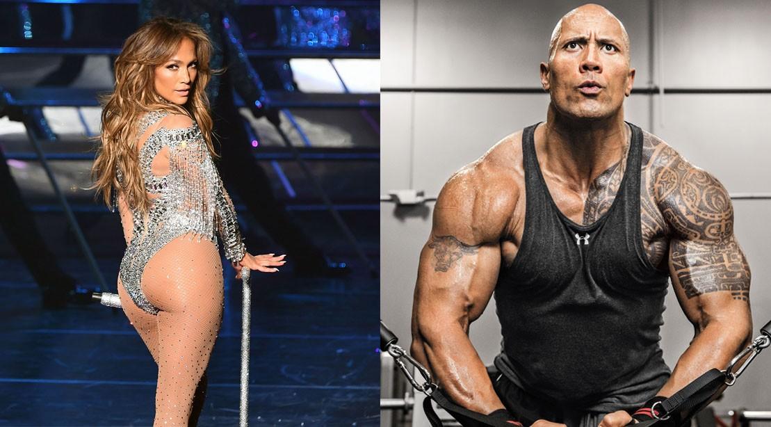 Jennifer Lopez & Dwayne Johnson