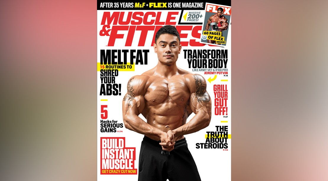Get the June 2018 Issue of 'Muscle & Fitness'
