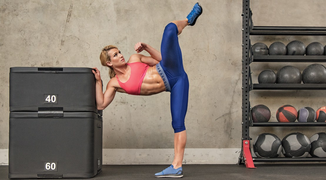 'Muscle & Fitness Hers' Summer 2018 Cover Star Jessie Graff