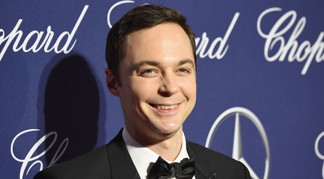 Jim Parsons Crushes Weight In The Gym