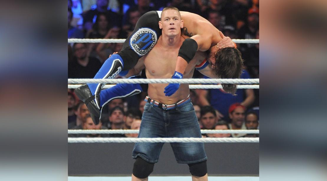 John Cena at WWE Summer Slam at Barclays Center 2016