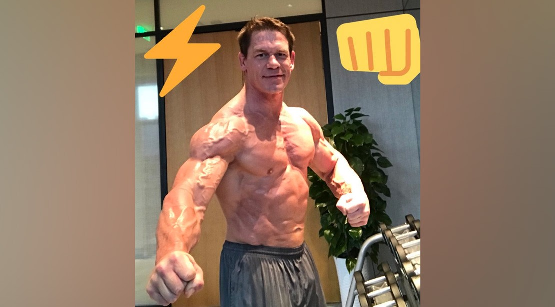 John Cena Is Crazy Ripped in His Latest Twitter Posts
