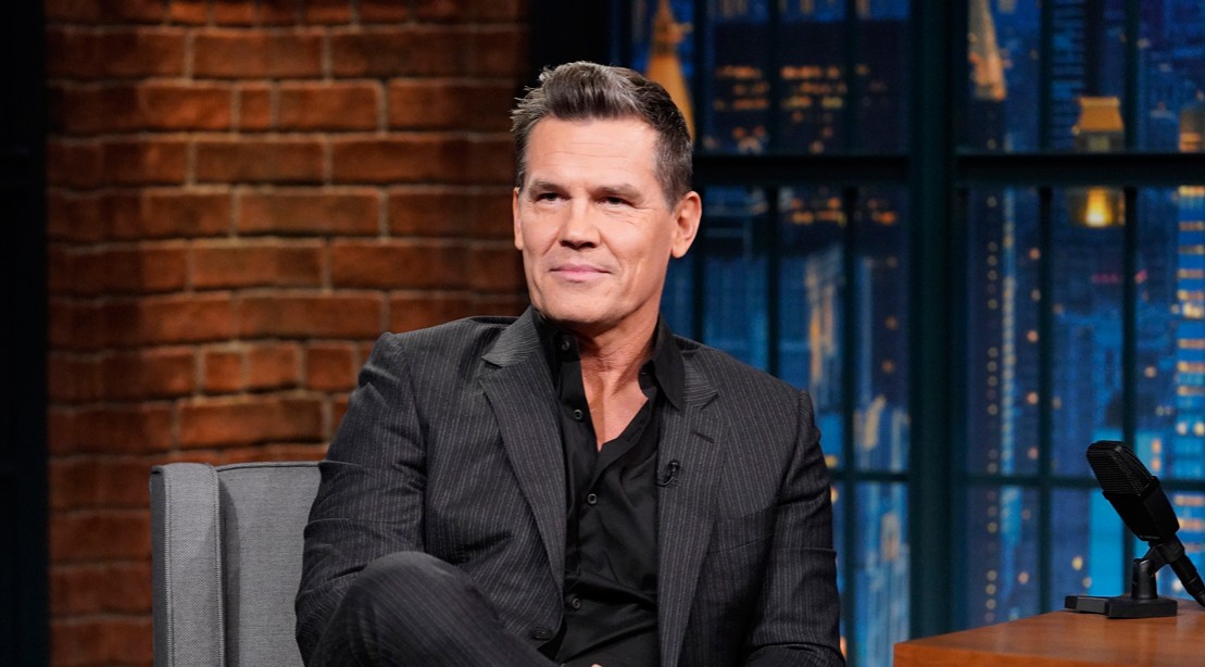 Actor Josh Brolin During an Interview