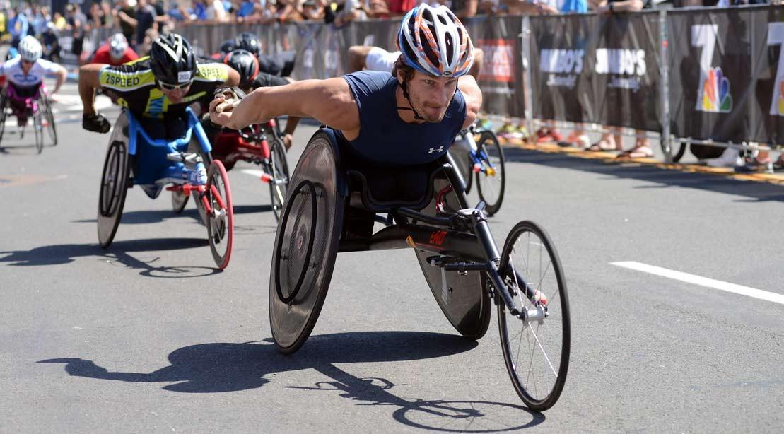 Paralympian Josh George