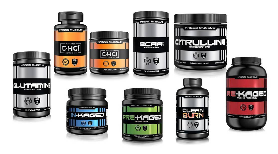 kaged muscle products