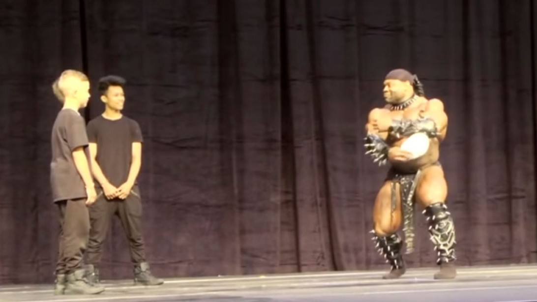 Kai Green Battles It Out On The Dance Floor