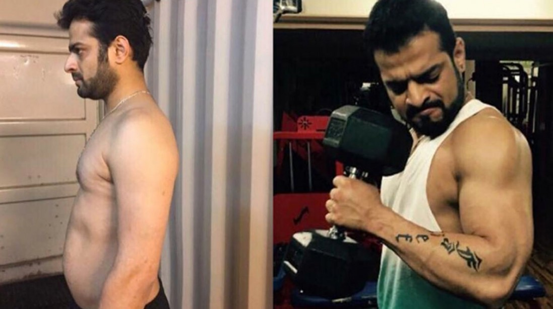 Actor Karan Patel completely transformed his body and achieved an impressively jacked physique