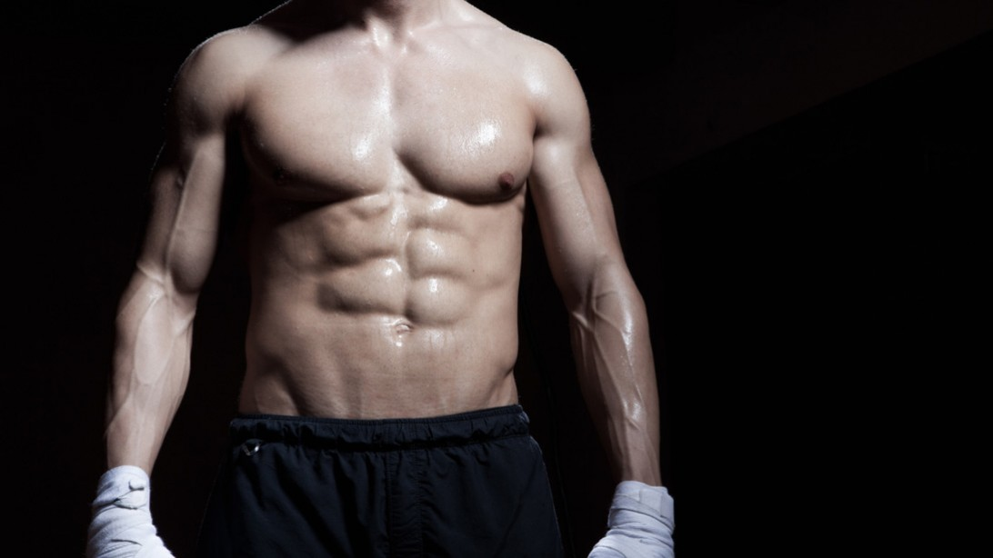 Men's muscle gain workout routines