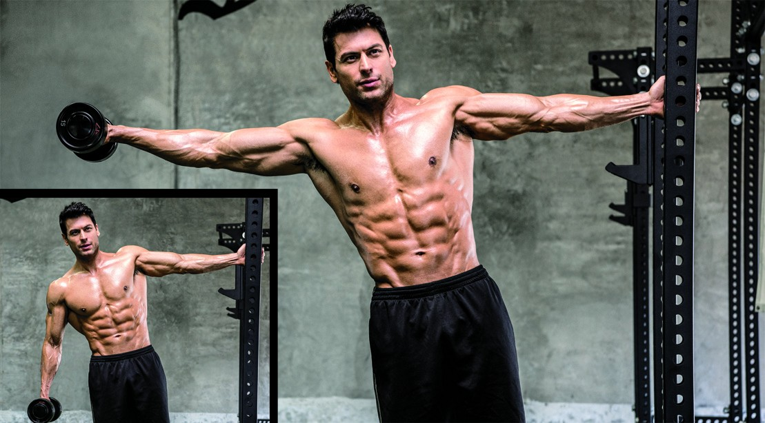 Leaning Lateral Raises